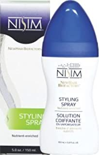 NISIM NewHair BioFactors Styling Spray - Nutrient-rich Styling Spray Formulated To Provide Strong but Flexible Hold, Maximum Protection, And Deep Nourishment (5 Ounce / 150 Milliliter)