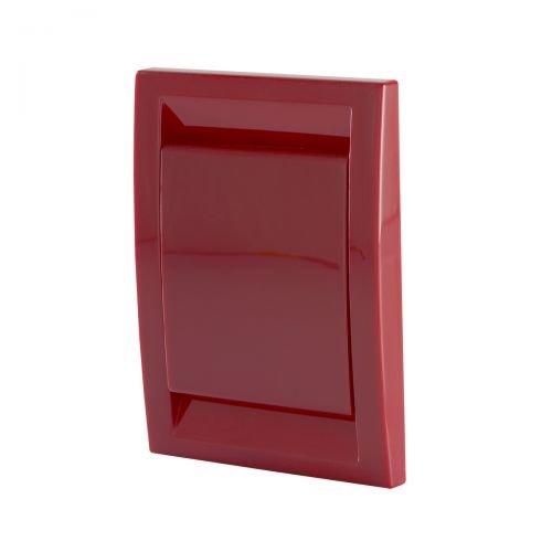Trovac Saugdose rechteckig Deco Farbe Rot