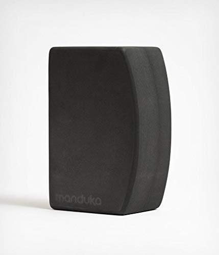 Manduka Unisex-Erwachsene Recycled Foam Yoga Block, Thunder unBLOK Yogablock aus recyceltem Schaumstoff, Donner, 9''L x 6''H x 4''D