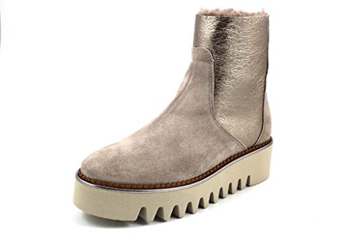 Alpe Woman Shoes Damen Stiefeletten Jade 44617038 beige 738919