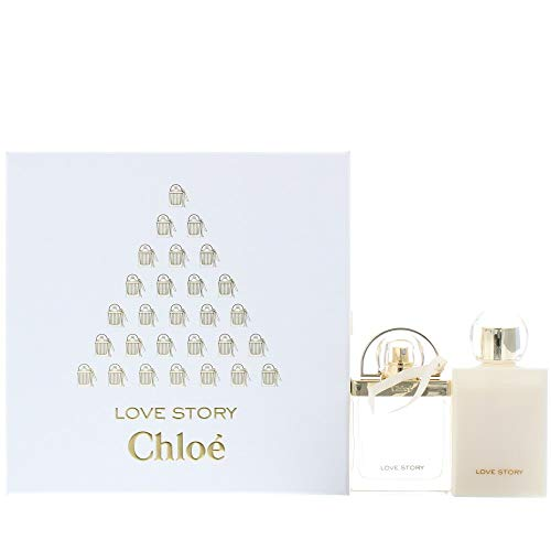 Chloé Love Story femme/woman Set (Eau de Parfum (50 ml), Bodylotion (100 ml))