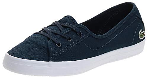 Lacoste Ziane Chunky BL 2 CFA, Zapatillas Mujer, Azul (Navy/White), 42 EU