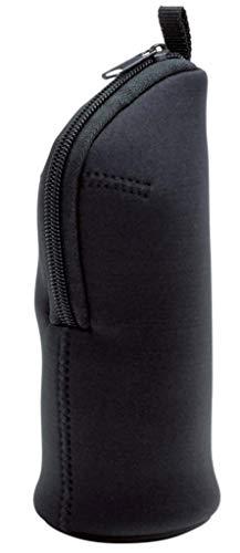 丸辰 monotone ペンケース 立てられる シンプル おしゃれ な 大容量 入る 筆箱 マルチに使える! スタンド ペンポーチ ブラック 34016BK