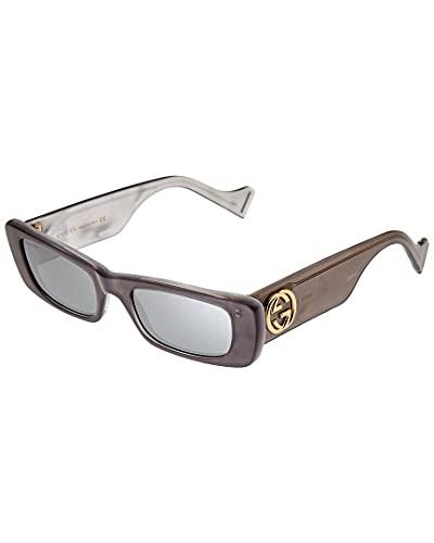 Gucci Gafas de Sol GG0516S GREY/SILVER 52/20/145 mujer