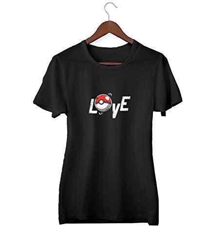 Pokeball liefde spel vinden het_KK018536 shirt T-shirt T-shirt voor mannen cadeau voor hem cadeau verjaardag kerst