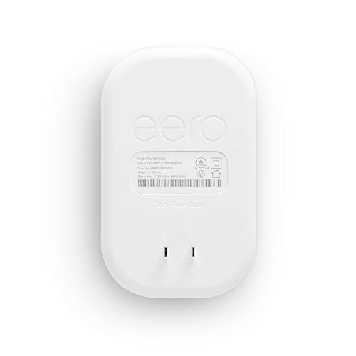 Amazon eero Beacon mesh WiFi range extender (add-on to eero WiFi systems)