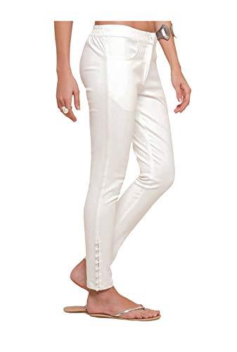 NAARI Women 100% Cotton Ankle Length Cigarette Pants | Straight...