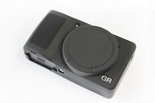 KoowlEU Kameratasche für RICOH GR Mark III GR3, ultradünn, weich, Silikon, abnehmbar