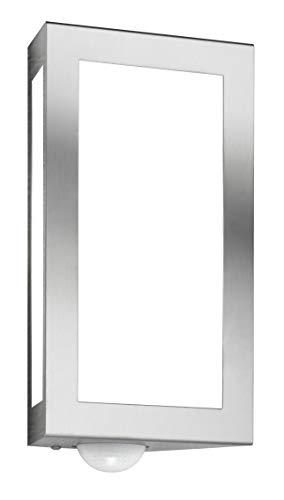 CMD 28/BM Wandleuchte edelstahl gebürstet, mit Bewegungsmelder
