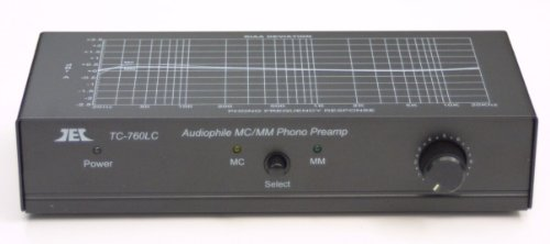 New TCC TC-760LC BLACK Moving Magnet / Moving Coil Phono Preamp w/Level Control