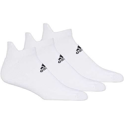 adidas Golf Golf Men's 3-Pack Ankle Sock, White, 7-8.5