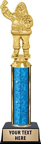 Crown Awards Santa Trophy, 11' Custom Santa Trophy Christmas Prize, Engraving Included Prime