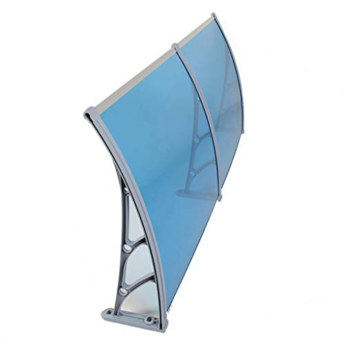 Lw Canopies paviljoen-deur van polycarbonaat, ter bescherming van de voordeur tegen sneeuw en regen. 60×160cm