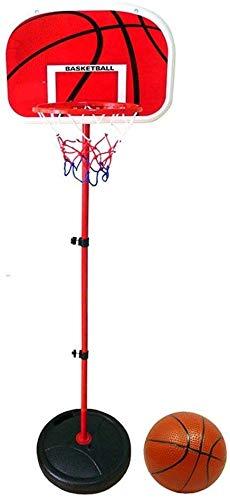 KOSGK Supporto Basket Portatile Tabellone Basket Bambini, Supporto Basket Set Giocattoli Basket Regolabile Altezza Regolabile Altezza