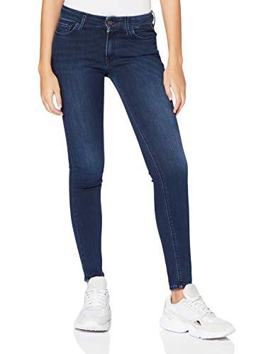 REPLAY New Luz Vaqueros Skinny, Azul (Dark Blue 007), No Aplica / L32 (Talla del Fabricante: 28) para Mujer