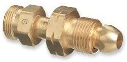 Western Enterprises 315 Brass Cylinder Adaptors, from CGA-510 POL Acetylene to CGA-520