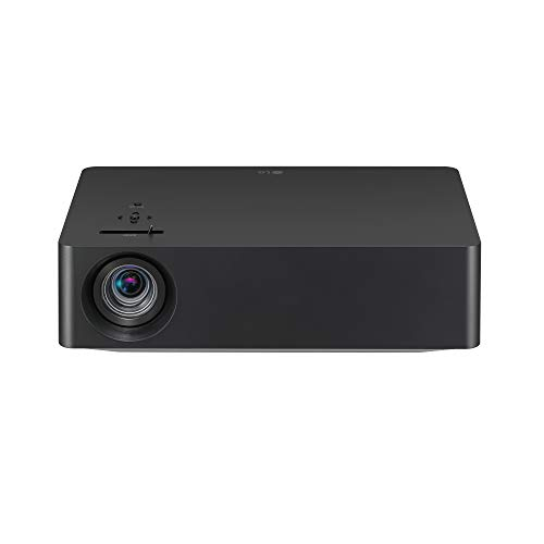 LG HU70LAB 4K UHD Smart Home Theater CineBeam Projector with Alexa Built-in, LG ThinQ AI, Google Assistant, and LG webOS Lite Smart TV (Netflix, and VUDU), Black