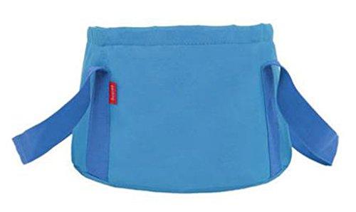Seau d/'eau pliable multifonctionnel de bassin de lavage avec la poche bleue