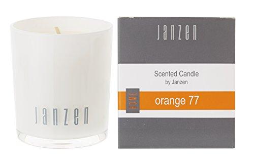Janzen geurkaars oranje 77, per stuk verpakt (1 x 135 g)
