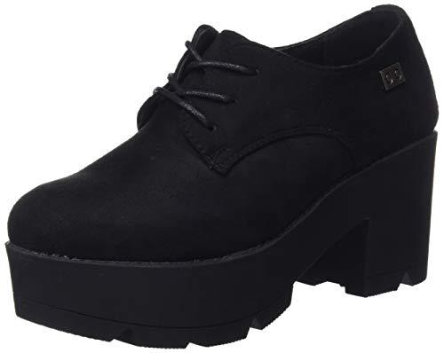 COOLWAY Nanny, Zapatos de Cordones Oxford para Mujer, Negro (Blk 000), 39 EU