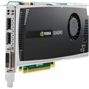 HP 671137-001 - Scheda grafica NVIDIA Quadro 4000 PCIe 2.0 x16 - Con 2 GB di memoria SDRAM GDDR5