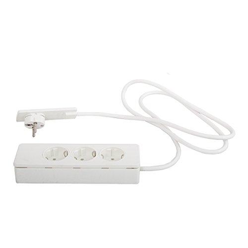 Schulte 151000156300 EVOline Plug-Verlängerung mit 3-fach Verteile