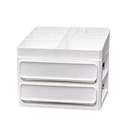 Boîte de rangement YQ Grande capacité de Type tiroir cosmétiques Commode de Bureau en Plastique Multi-Couche Rack (Size : M)