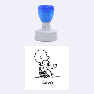 charlie brown rubber stamps