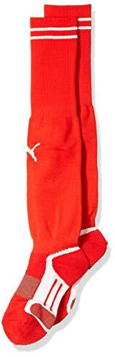Puma Men's V Elite Socks, Puma Red/White, 7-12