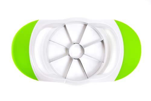 SmartKitchen Coupe-Pomme Trancheur à 8 Lames - Lames de Coupe en Acier Inoxydable Ultra Aiguisées - Poignées Ergonomiques Confortables - Se Range à Plat Dans N'importe Quel Tiroir