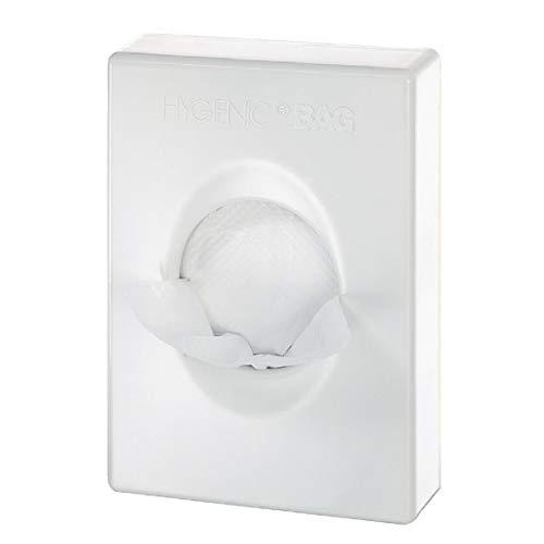 Dispensador de papel higiénico – Dispensador de papel higiénico – Dispensador de manos – Dispensador para bolsas de higiene femenina – ABS blanco