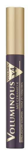 L'Oréal Paris Mascara, Schwarze Wimperntusche für 4x mehr Volumen und kräftige Wimpern, Voluminous, Nr. 00 Schwarz, 1 x 8 ml
