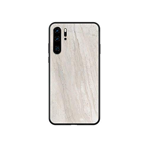 Marble Phone case For Huawei P 30 10 20 40 Lite Smart Z Pro 2019 black cover soft cell cover luxury bumper 3D funda fashion-2-Huawei P20 Pro