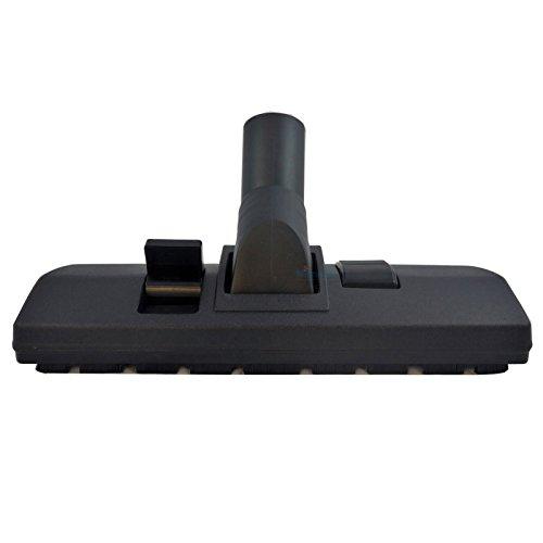 Boquilla de suelo para AEG Serie CE, por ejemplo, Vampyr CE2000EL, CE4120EL+, etc. Boquilla combinada conmutable, incluye quitapelusas de Microsafe®