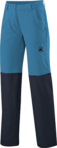 Mammut Hiking Zip Off Women's Pants d'cyan/Marine 38