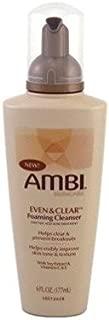 Ambi Even & Clear Foaming Cleanser 6oz Pump (2 Pack)