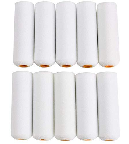 TIJAR Lot de 10 mini manchons de peinture haute performance 100 mm