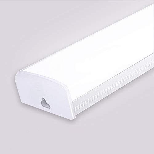 LED Röhre Garage Lampe 30W 60cm Schattenlos Licht Kaltweiß LED Werkstattlampe Garagenleuchte Beleuchtung für Garage Werkstatt Lager Büro (30W)