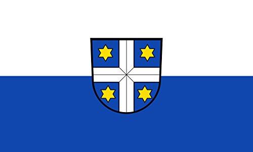 Unbekannt magFlags Tisch-Fahne/Tisch-Flagge: Neulußheim 15x25cm inkl. Tisch-Ständer