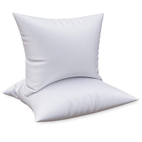 Dreamzie - 2er Set Kopfkissen 50 x 70 cm Anpassbar - Orthopädisches Kissen Sehr Weich 100% Mikrofraser Für Alle Schlafpositionen - Ohne Chemikalien (Oeko-TEX Standard 100)