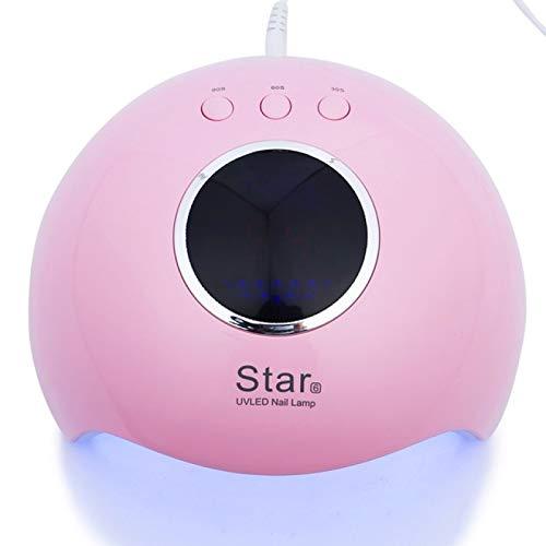 LsdnlxSecadores de uñas, Secador de gel de uñas para manicura de uñas Herramientas de arte de uñas Lámpara UV/LED Gel de esmalte de curado