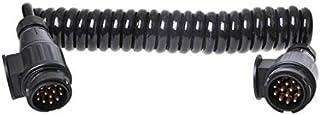 spiraalkabel 13-aderig PVC 13-polig zwart 3,5 meter (244628)