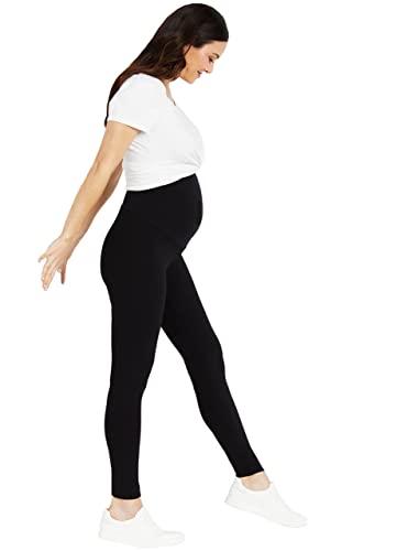 Motherhood Maternity Women's Essential Stretch Full Length Secret Fit Belly Leggings