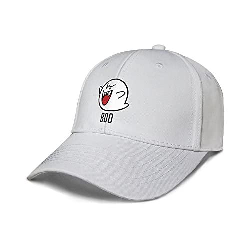 XIANGAN Sombrero de Mario Mario Luigi Peripheral Games Sombrero de Pico para Hombres y Mujeres Sombrilla Gorra de béisbol Pesca Ocio Peces Sombrero Protector Solar Verano