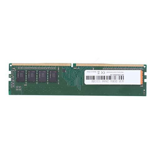 Zunate Desktop Memory Ram, DDR4 4GB 2666MHz 288pin RAM Memory Sticks para computadora de Escritorio, Accesorio de computadora Totalmente Compatible con para Intel/para AMD