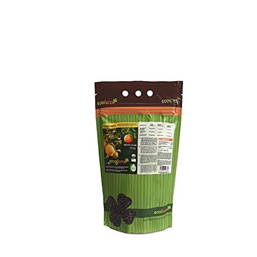 CULTIVERS Abono Ecológico Cítricos de 1,5 Kg Especial Fertilizante Origen 100% Orgánico y Natural...