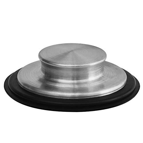 3 3/8 inch (8.57Cm) - Kitchen Sink Stopper Stainless Steel Garbage Disposal Plug Fits Standard Kitchen Drain size of 3 1/2 Inch (3.5 Inch) Diameter