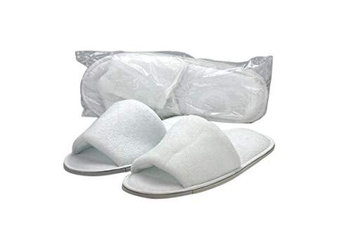 Badstof Sauna slippers (Open teen) of als Zonnebank slippers