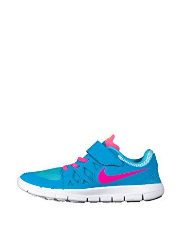 Nike Unisex-Kinder Free 5 Gpv Krabbelschuhe, himmelblau, 33.5 EU
