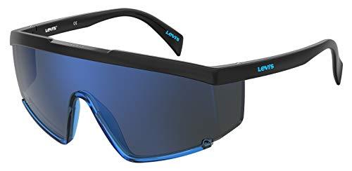 Levi's LV 1008/S Gafas de sol de forma especial, color negro, 99 mm, 1 mm